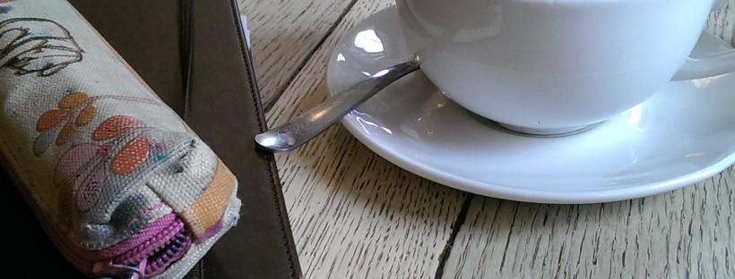 coffee, notebook, writing