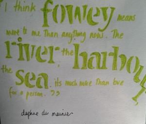 A du Maurier quote