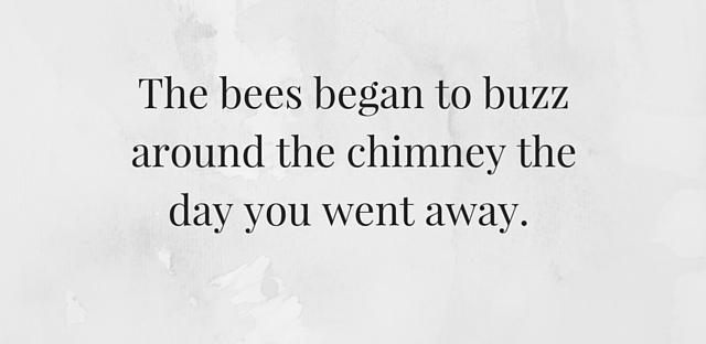 the bees, first line, short story, the day the bees came