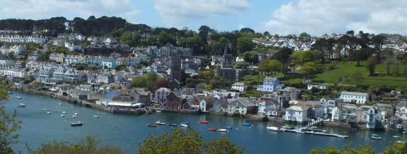 Fowey, from the Hall walk