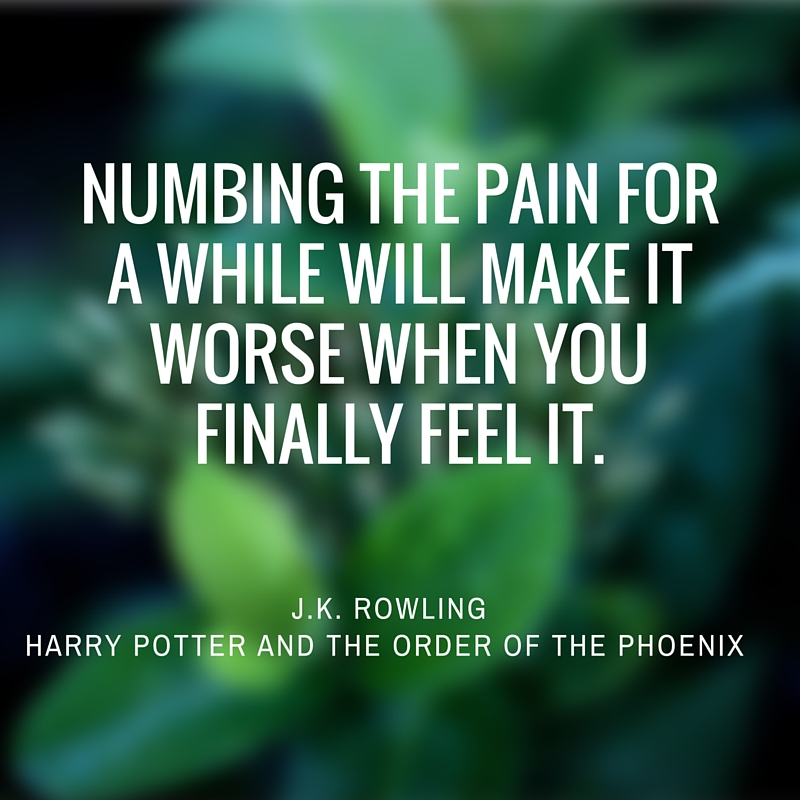 JK Rowling Harry Potter and the Order of the Phoenix quote