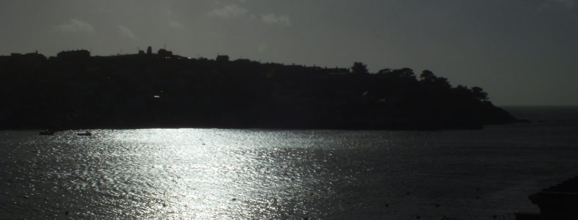 afternoon sun in fowey